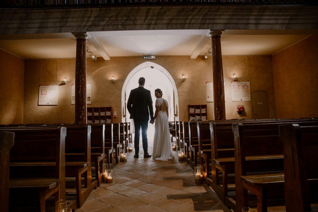 couple église mariage